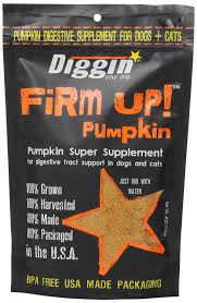Using Pumpkin For Dog Constipation by Amazon Com Diggin U0027 Your Dog Firm Up Pumpkin Super Supplement For