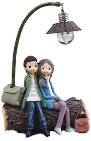 vosarea mini le aus kunstharz für paare wohnzimmer schlafzimmer dekoration basteln geschenke für zuhause liebhaber valentinstag d