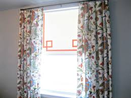 Fabric For Curtains Diy by Unique Curtains Window Treatments Tie Up Curtain Pattern Red