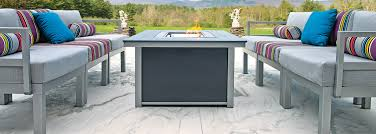 Telescope Patio Furniture Dealers by Telescope Casual Fire Tables Usa Outdoor Furniture