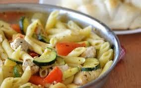 cuisine de courgettes recette poulet tomates cerises courgettes avec pennes pas chère et