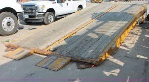 100 Loading Ramps For Pickup Trucks 2001 Ledwell LW25X120 Portable Loading Ramp Item C2611 S
