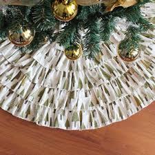 Get Quotations NIGHT GRING 36 Inch Christmas Decorations Burlap Ruffled Xmas Tree Skirt
