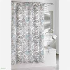 22 New Coral and Blue Shower Curtain