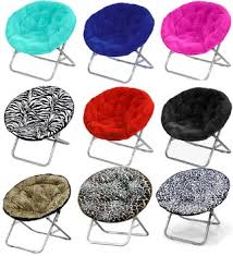 Mainstays Faux Fur Saucer Chair Multiple Colors by Buy Folding Saucer Chair Moon Fold Fur Retro Club Chair Lounge