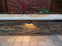 led hardscape lighting deckstep and retaining wall lights w with