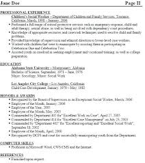 Resumes For Social Workers Work Resume Templates Free Worker Us Objective Statement Examples