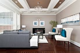 Grey Sectional Living Room Ideas by Grey Sectional Living Room Contemporary With Bright Blue Throw