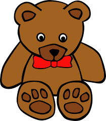 522x597 Simple Teddy Bear Clip Art