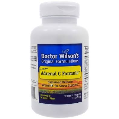 Dr Wilson's Original Formulations Adrenal C Extracts Dietary Supplement - 150 Tablets