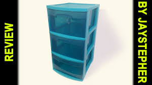 Sterilite 4 Drawer Cabinet Target by Review 3 Drawer Storage Cart By Sterilite Cc Youtube