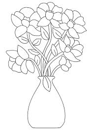 Print And Share These Flower Coloring Pages With Your Children