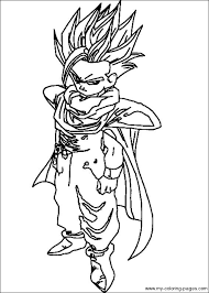 Coloring Pages Of Dragon Ball Z Gt