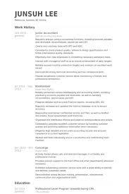 Junior Accountant Resume Samples