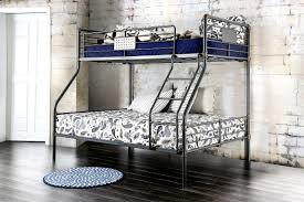 Bunk Bed With Desk Walmart by Bedroom Striking Appearance Metal Bunk Beds Twin Over Full
