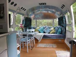 A Retro Airstream Caravan Stylish And Spacious