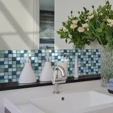 10x10cmx20pcs kristall mosaik pvc wasserdicht self adhesive wand aufkleber fliesen aufkleber für küche bad möbel zym 001