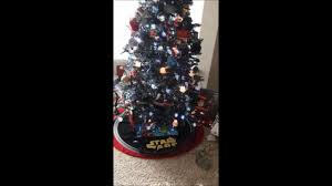 Kohls Christmas Tree Toppers by Star Wars Christmas Tree Youtube