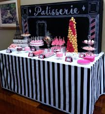 dessert table paris themed bridal shower dessert bars bar and