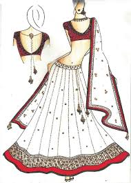 Indian Drawings Of Dresses