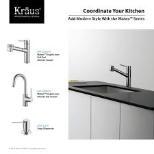 Used Commercial Pre Rinse Faucet by Kraus Kpf 2630 2600 41ch Mateo Polished Chrome Pro Pre Rinse Units