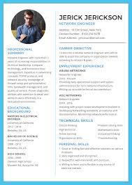 Engineering Resume Templates Sensational Engineeringesume Template Network Engineer Sample Pdf Software Microsoft Word Cv Australia Wondrous