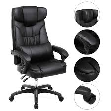Luxury Black Office Chairs OBG76B - Songmics Wholesale Chairs 12 Best Recling Office Chairs With Footrest Of 2019 The 14 Gear Patrol Black Studyoffice Chair Seat Cha Ks Pollo Chrome Base High Back Adjustable Arms Chair 1 Reserve Rolling Desk Trade Me 8 Budget Cheap Fniture Outlet Quick Sf112 New Headrest Just Give Him The Its That Easy Employer