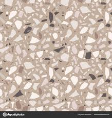 Terrazzo Seamless Pattern Tile With Pebbles And Stone Abstract Texture Background For Wrapping Paper Wallpaper Flooring Vector By Parmenow