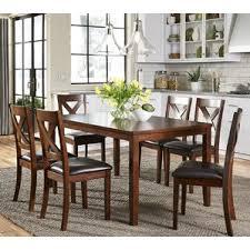 Wayfair Modern Dining Room Sets by 7 Piece Rectangular Kitchen U0026 Dining Room Sets You U0027ll Love Wayfair