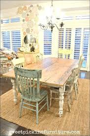Farmhouse Dining Room Set Unique Tables Table Plans Chair