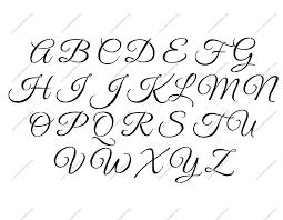 Alphabet Letter Stencils Uppercase Lowercase 14 12Inch Size