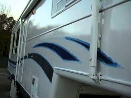 Rustoleum 50 RV Paint Job RIght Side Completed Pt 4