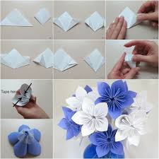 Fold Paper Flower How To Flowers 10 Steps