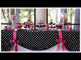 First birthday party themes for girls YouTube