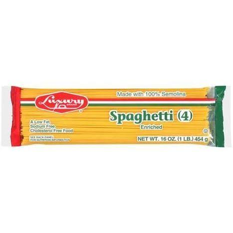 Luxury Spaghetti Noodles - 16oz
