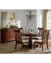 bordeaux round dining room furniture furniture macy s