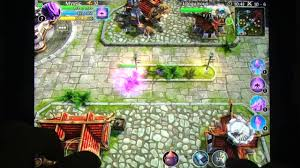 Heroes of Order & Chaos Multiplayer line Game iOS iPad iPhone