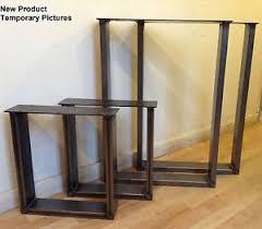 pied pour bureau industriel boitier en acier pieds x2 pour tables bureau banc design