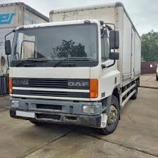 DAF CF65.240 18 Ton Box Lorry. Manual Injector Pump. | In Brentwood ...
