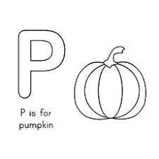 One Big Pumpkin Coloring Pages P For