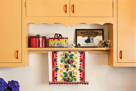 SOme Favorite Things From The Owners Childhood Sit On Display Shelf Under A Cabinet Trimmed
