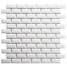merola tile metro subway glossy white 11 3 4 in x 11 3 4 in x 5