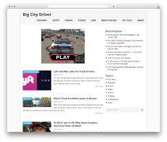 100 Truck Driver Average Salary Point WordPress Template Free By MyThemeShop Bigcitydrivercom
