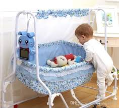 Intelligent Automatic Swing Baby Bed Baby Crib Mosquito Net