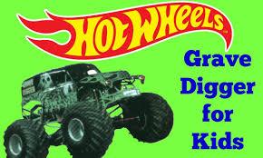 100 Monster Truck Grave Digger Videos Hot Wheels Jam Video For Kids Featuring Hot Wheels Cars