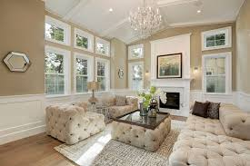 Traditional Living Room With SOHO TUFTED UPHOLSTERED DAYBED Soho Tufted Upholstered Chair