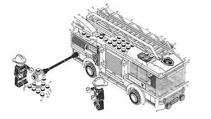 Lego Duplo Loading Water Into Firefighter Cars Coloring Pages