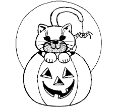 Color Halloween Pictures Online Coloring Book