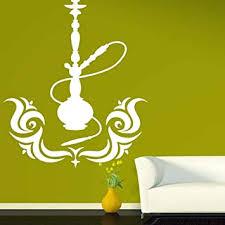 rauchen shisha tabak dekoration vinyl aufkleber