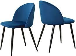 ofcasa 2er set weichen samt esszimmerstühle gepolstert sitz